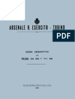 Cenni Descrittivi Del Pezzo Da 100-17 Mod. 916