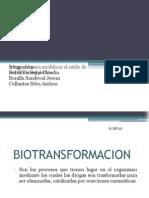 Biotransformacion de Etanol, Metanol y Etilenglicol