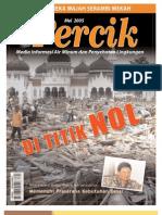 Tsunami Aceh. Di Titik Nol. PERCIK Edisi 8 Mei 2005. Media Informasi Air Minum dan Penyehatan Lingkungan.