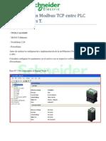 Comunicación Modbus TCP entre Twido y Tesys T