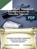 Kolonialisasi Di Maluku Tengah PPT