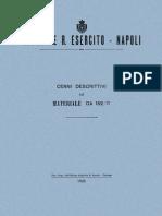 Cenni Descrittivi Sul Materiale Da 152-37
