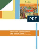Perencanaan dan Penganggaran yang Responsif Gender Bidang Perumahan dan Kawasan Permukiman. Panduan.