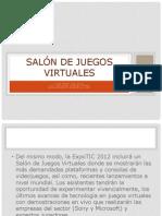 Salón de juegos virtuales