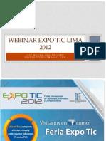 Webinar Expo TIC Lima 2012