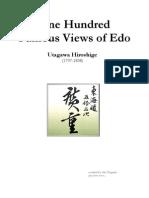 Utagawa Hiroshige - Hundred Famous Views of Edo