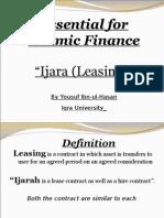 9-Leasing or Ijara