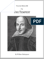 Shakespeare, William - The Tempest