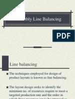 Assemly Line Balancing