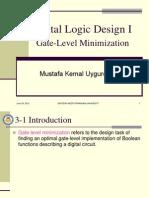 Chapter 3 Gate-Level Minimization