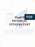DepEd Physical Fitness Test
