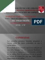 tiposdeconsultas an access 2012