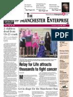 Manchester Enterprise front page June 28