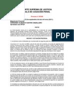 CORTE SUPREMA DE JUSTICIA f. imputacón