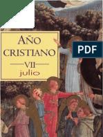 Año Cristiano. Mes de Julio. B.A.C.