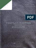Templar Tactics and Manual (Missouri)