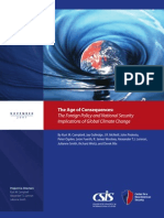 The Age of Consequences - The Foreign Policy and National Security Implications of Global Climate Change.