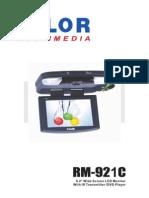 Valor RM-921C Manual