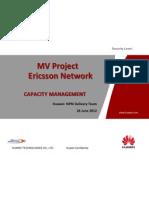 Ericsson Parameter-Audit CapacityManagement