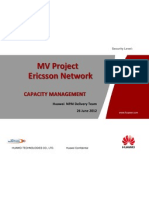 Ericsson Parameter-Audit CapacityManagement