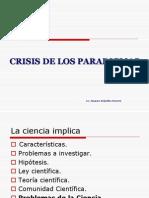 Crisis de Los Paradigmas