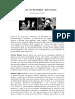 Conversación entre Ricardo Piglia y Roberto Bolaño