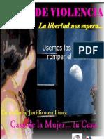 Basta de Violencia Cartilla Casa de La Mujer 2011