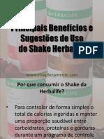 Benefícios Shake Herbalife