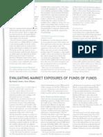 Asset Alliance Evaluating Marketing Exporsures FoFs