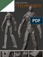 Zbrush Character Creation Advanced Digital Sculpting Pdf