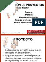 1.  INTRODUCCIÓN A LA EVALUACIÓN DE PROYECTOS