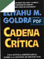 Goldratt,Eliyahu Cadena Critica