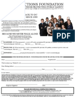 Corrections Foundation's Payroll Deduction Form