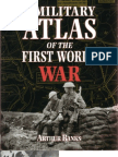 Atlas Militar de La Primera Guerra Mundial