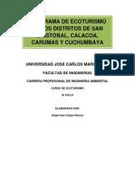 Programa Ecoturismo Carumas