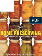 Kingry, Judi and Devine, Lauren - Ball Complete Book of Home Preserving (2006)