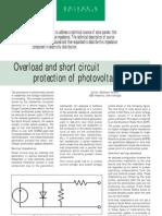 Protectia Inst Fotovoltaice