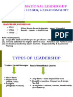 Transformational Leadership (5)