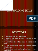 Team Building Skills Leadership