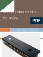 Microcontroladores Expo 18f4550