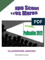 Revista Campamento 2012