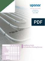 Uponor Underfloor Heating Installation Guide