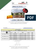 Libros de Texto 2012-13