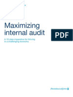 Maximizing Internal Audit