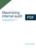 Maximizing Internal Audit