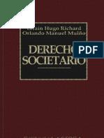 Derecho Societario Richard Efrain y Mui o Orlando