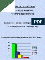 Corso Comp. Linguistiche
