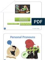 Personal Pronouns by Dr _shadia [Compatibility Mode]