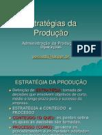 Estratégia da produção