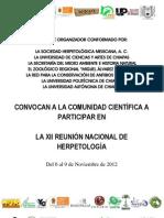 Convocatoria XII SHM-Tuxtla